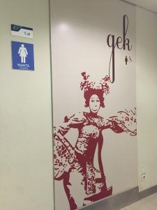 """""""Gek"""" is """"women"""" in Balinese"""