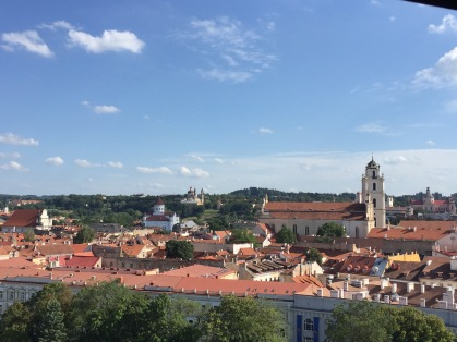 View from Cathedral Tower, Vilnius