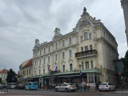 Our hotel, Radisson Astorija