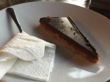 Chocolate and caramel bar
