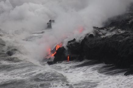 Kilauea Volcanic Activity; Photo Credit: Vanessa Mount