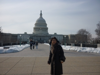 My friend Shinoka with the Capitol