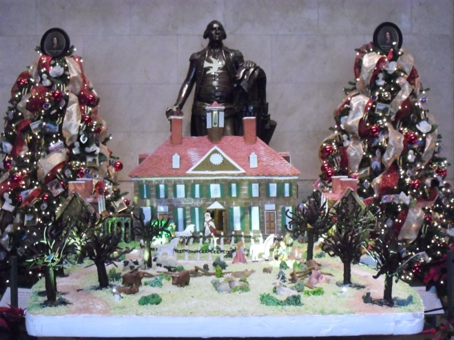 Gingerbread Mount Vernon