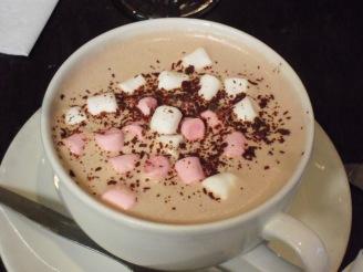 Delightful hot cocoa