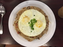 Island style Fried Rice and Eggs